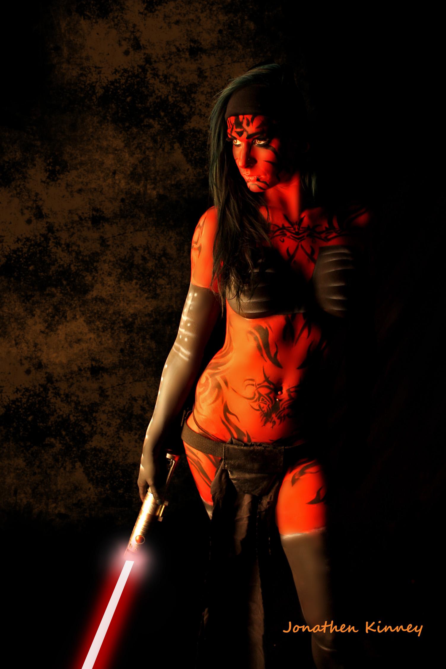 bodyart Red Sonja