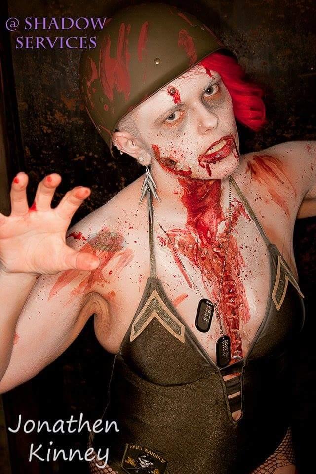 Bodyart Ms living Dead Pagent