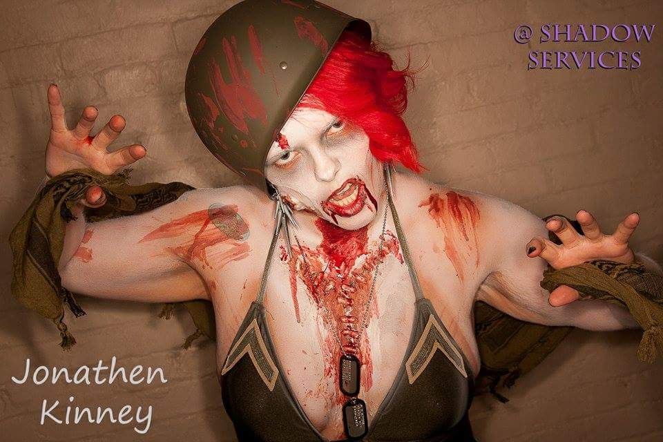 Bodyart Ms. Living Dead Pagent
