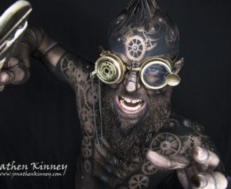 bodyart Jonathen Kinney model Jeremy Adkins